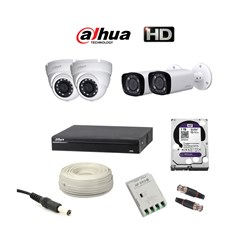 Picture of Dahua 4 HD CCTV Combo Pack
