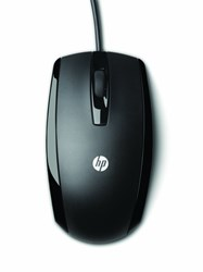 Picture of HP usb X500 Wired Optical Sensor Mouse 3 Buttons windows 8 supported
