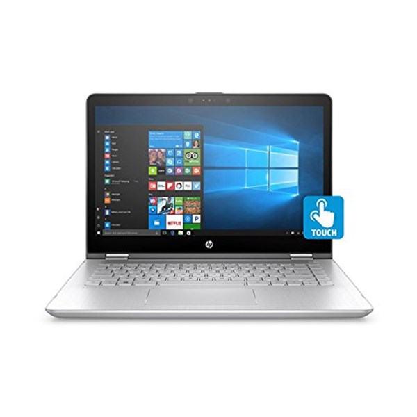 "Picture of HP Laptop Pavilion X360 14 - CD0055TX (Ci7-8550U-8GB-1TB HDD + 16GB Optane -W10-4GB Nvidia Geforce MX130-14""FHD IPS-Finger Print Reader)"