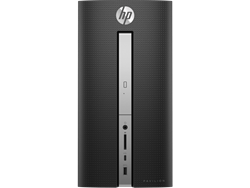 Picture of HP Pavilion 570-p045in Tower Desktop (7th Gen Intel Core i7-7700  Quadcore-8GB-2TB-Win10-2gb Dedicated Gfx-Without Monitor)
