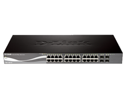 Picture of D-Link DGS-1510-28 Smart PRO Switch Router