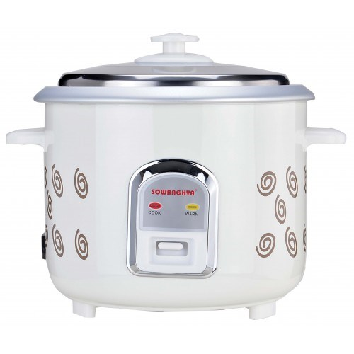 Picture of Sowbaghya Electric Rice Cooker 1.2Ltr Annam