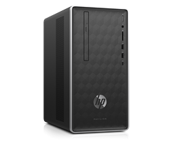 Picture of HP Pavilion  590-p0077il Desktop 8th Gen Core i7 8700 (3.2 GHZ) -4 GB DDR4 -1TB HDD-DOS- - 2GB Dedicated GFX