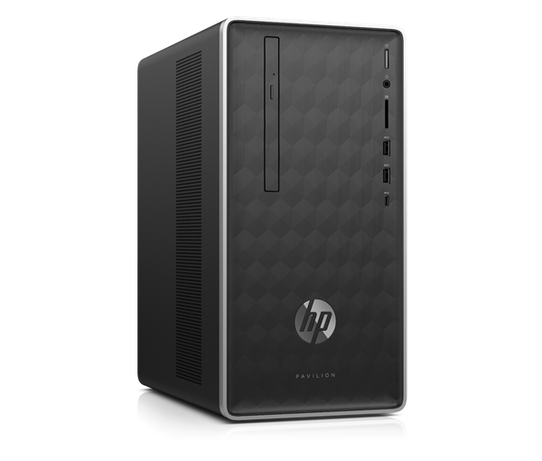 Picture of  HP Pavilion  590-p0078in Desktop 8th Gen Core i7 8700 (3.2 GHZ) -8 GB DDR4 -2TB HDD-Win 10 Home- - 2GB Dedicated GFX