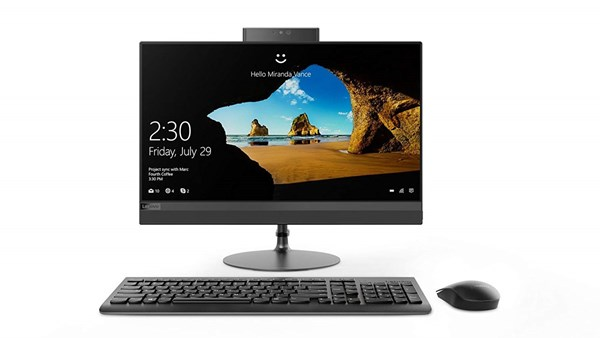 "Picture of Lenovo Mainstream AIO 520 22I KL F0D40034IN(CI3-7100T-4GB-1TB-W10-Integrated Gfx -21.5"" FHD-Borderless)"