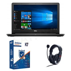Picture of Dell Inspiron 3576 +K7 Antivirus+Head Phone