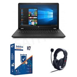 Picture of HP Laptop 15-BS669TU+ K7 Antivirus+Head Phone