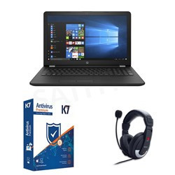 Picture of HP 15-DA0074TX+K7 Antivirus+Head Phone