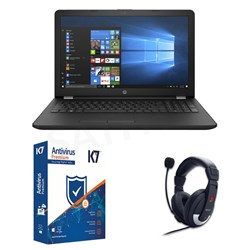 Picture of HP 15-DA0295TU +K7 Antivirus+Head Phone