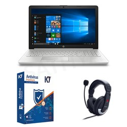 Picture of HP Pavilion 15-DA0327TU+K7 Antivirus + Head Phone