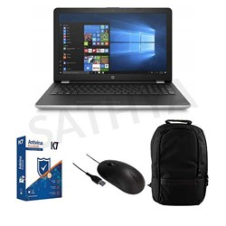 Picture of HP 15-DA0326TU(Ci3-7100U-4GB-1TB-INT-HD-GPX-W10-15.6-FHD) + K7 Antivirus Single User + Targus USB Mouse + Laptop Bag