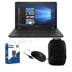 Picture of HP Laptop 15-DB0209AU (A4-9125-4GB-1TB-W10-15.6INCH)+K7 Antivirus Single User + Targus USB Mouse + Laptop Bag