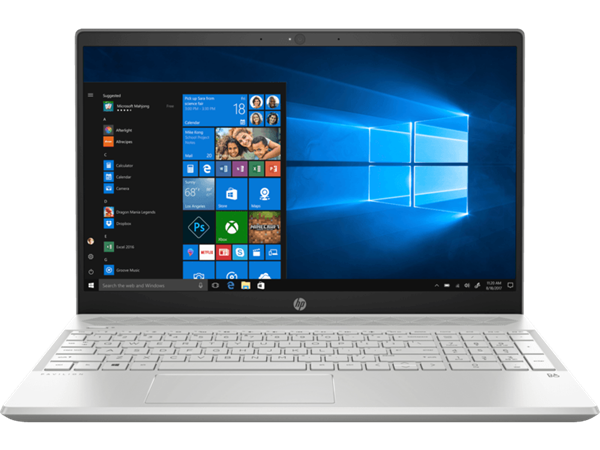 "Picture of HP Pavilion 15-CW0027AU-AMD Ryzen 5 2500U-8 GB-1TB HDD+128GB SSD-W10 MSO-Radeon Vega Graphics-15.6"" FHD"