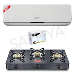 Picture of Vestar  1 Ton Inverter AC+Gas Stove+Stabilizer