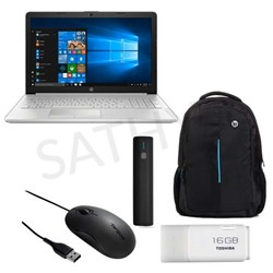 "Picture of HP Pavilion 15-DA0327TU (CI3-7100U-4 GB-1 TB HDD-W10 MSO -Intel HD Graphics-15.6"" FHD)+Carry Case+Power Bank+Mouse+Pendrive"