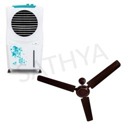 Picture of Symphony Ice Cube Air Cooler+Usha Fan 48 Spirit