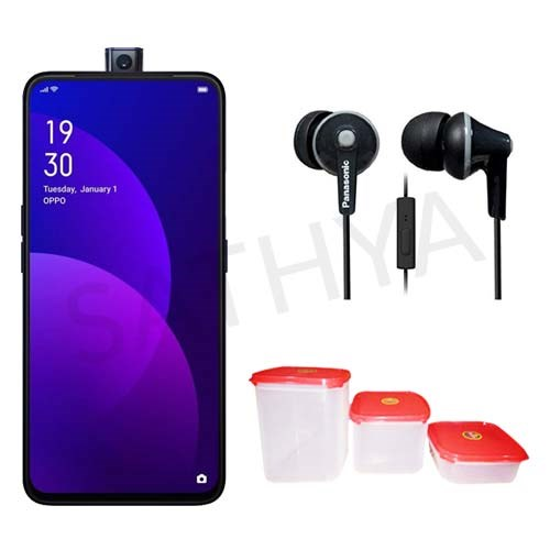 Picture of Oppo Mobile F11 PRO(Thunder Black,6GB RAM,64GB Storage)+Earphone+Gift