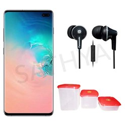 Picture of Samsung Galaxy S10+ (White,8GB RAM,128GB Storage)+Earphone+Gift