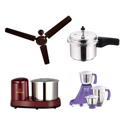 Picture of 3 Jar Mixie+2L Grinder+3L Cooker+Fan