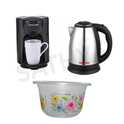 Picture of Sowbaghya Water Kettle 1.5L+Coffee Maker+Gift