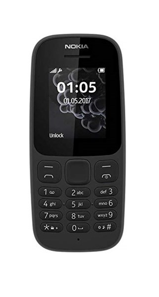 Picture of Nokia Mobile 105 TA-1010 IN CM (Black,4MB RAM,4MB Storage)