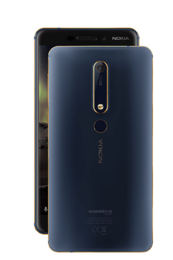 Picture of Nokia 6.1 TA-1089 DS IN CM (Blue,3GB RAM,32GB Storage)