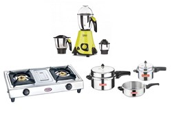 Picture of Vidiem 3 Jar Mixie+Prestige 2B Stove+Anantha 7.5 Ltrs Family Pack