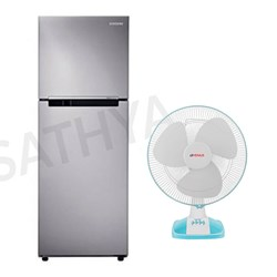 Picture of 251 Ltrs Double Door Refrigerator+Table Fan