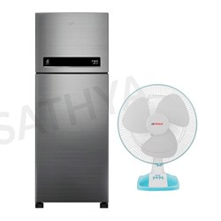 Picture of 265 Ltrs Double Door Refrigerator+Table Fan