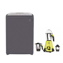 Picture of 6.5 Kg Fully Automatic Washing Machine+3 Jar Mixer Grinder