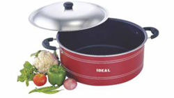 Picture of Ideal N S 3 Coated Briyani Pot 270mm 6L