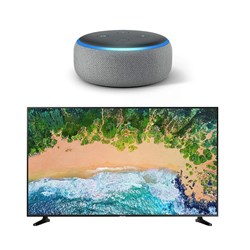 Picture of Samsung LED UA55NU7090+Alexa Speakers Echo Dot