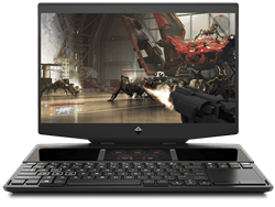 "Picture of HP Omen X DG0018TX (9th Gen i7-9750H-16GB DDR4-256GB SSD +256GB SSD-Win 10-RTX 2070 8GB Graphics-15"" FHD)"