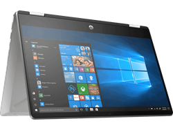"Picture of HP Pav x360 14-DH1007TU (10th Gen i3-10110U- 4GB - 256GB SSD - W10 MSO - 14"" FHD )"
