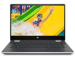 "Picture of HP Pavilion X360 -14-DH1011TU (Ci5-10210U-8GB-1TB HDD+256 GB SSD -W10-H&S-14"" FHD Touch IPS-FPR)"