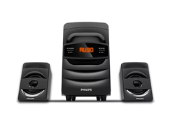 Picture of Philips MMS2625B 2.1 Ch Multimedia Speakers