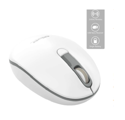 Picture of Portronics Wireless Mouse with 2.4GHZ Grey POR 016