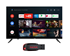 Picture of Haier LE40K6600GA Android Smart AI Plus LED TV+Gift Sandisk 32GB Pendrive, Picture 1