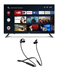 Picture of Haier LE43K6600GA Android Smart AI Plus LED TV+boAt Bluetooth Headphone Rockerz 255R, Picture 1