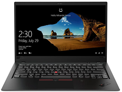 Picture of Lenovo Laptop X1 20KHS0KV00 CI7 8550U-16GB RAM-512GB SSD -W10 PRO-14 Inch-3 Yrs