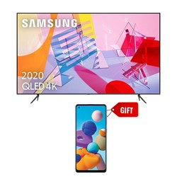 "Picture of Samsung 55"" QA55Q60T 4K Smart QLED TV+GIFT Samsung Mobile A217FF Galaxy A21S 6GB RAM,64GB Storage"