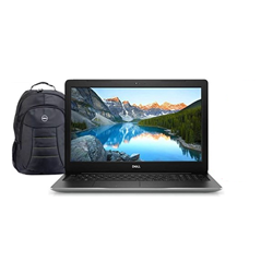 Picture of Dell Laptop Inspiron 3593 I3 1005G1 10GEN 4GB 1TB W10 15.6INCH 1YR Silver+Laptop Bag
