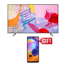 "Picture of Samsung 55"" QA55Q60T 4K Smart QLED TV+Gift Samsung Mobile A315FW Galaxy A31 6GB RAM,128GB Storage"