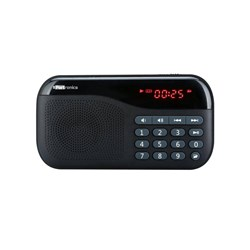 Picture of Portronics Plugs Portable Speaker Black POR 141