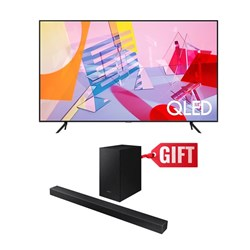 "Picture of Samsung 55"" QA55Q60T 4K Smart QLED TV+Gift Samsung Soundbar T420"