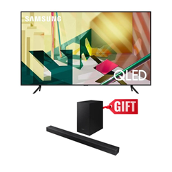 "Picture of Samsung 55"" QA55Q70T 4K Smart QLED TV+Gift Samsung Soundbar T420"