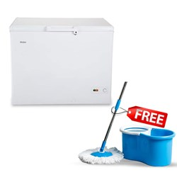 Picture of Haier 319 Litres HCC-345HC Deep Freezer+Free Spin Mop