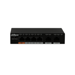 Picture of Dahua PoE Switch PFS3006 4ET 60 4 Port