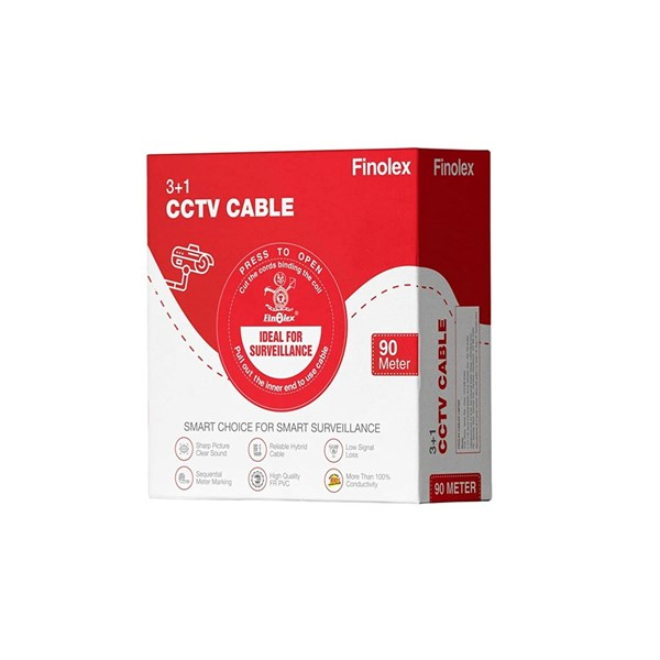 Picture of Finolex 3+1 CCTV cable (90 MTR)